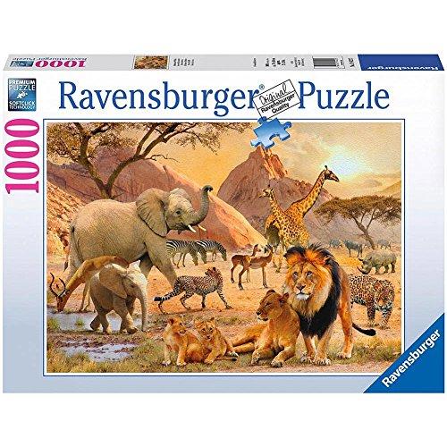 Ravensburger African Wildlife Puzzle 1000-Piece