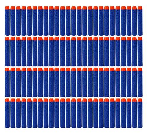100pcs Foam Darts Nerf Toy Gun Refill Bullet for Kids 72cm Darts for N-strike Elite Series