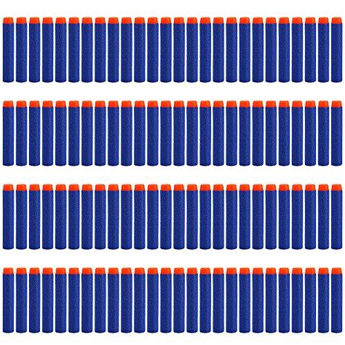 Yosoo 400pcs 72cm Refill Bullet Darts for Nerf N-strike Elite Series Blasters Kid Toy Gun