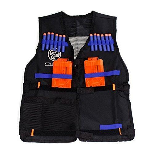 7Seventoys Elite Tactical Vest for Nerf N-strike Elite Series only included vest and mask