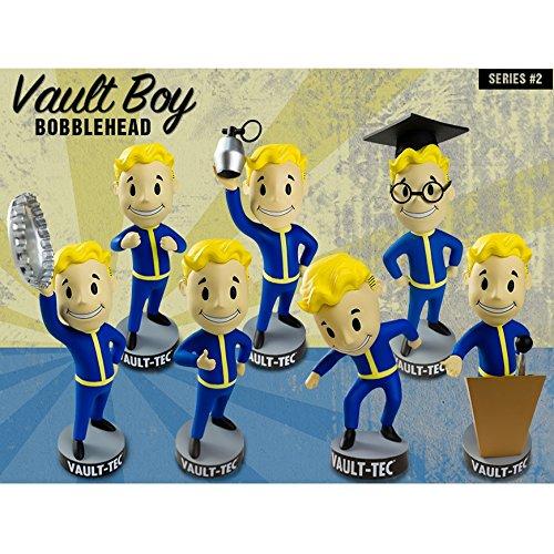 Fallout 3  Vault Boy Bobblehead Series 2  seven set