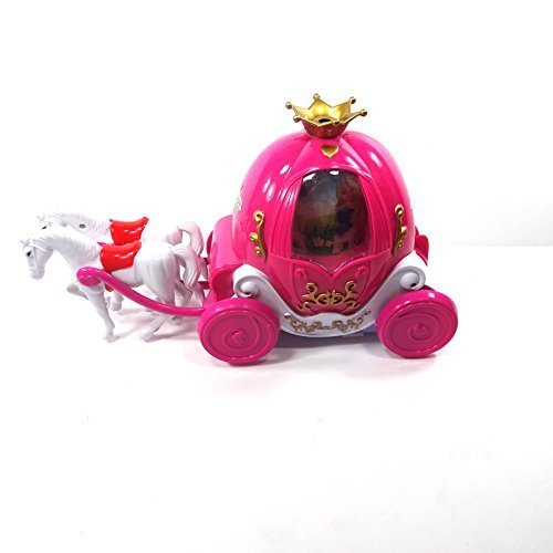 Bubble Blowing Horse Carriage Toy Pretend Play Bump N Go Action Battery Operated With Lights Sounds Brand New In Box