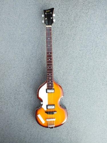 RGM07 Paul McCartney Beatles Miniature Guitar Mini Guitar Rock Guitar Miniatures The Beatles John Lennon Paul McCartney George Harrison Ringo Starr Love Me Do Abbey Road Yellow Submarine Let It Be