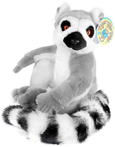 Ringo the Ring-tailed Lemur  20 Inch 9 Inch BodyMadagascar Lemur Stuffed Animal Plush  By Tiger Tale Toys