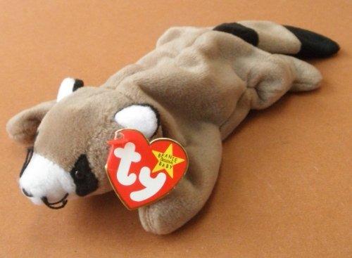 TY Beanie Babies Ringo the Raccoon Plush Toy Stuffed Animal by Unknown