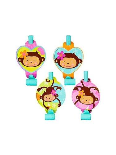 Pink Mod Monkey Love Blowouts 8ct