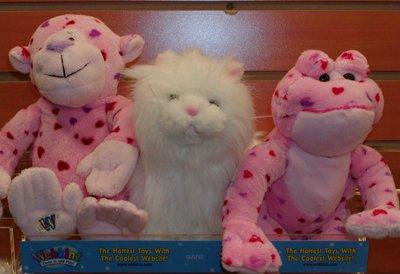Webkinz Love Monkey Love Frog and Persian Cat