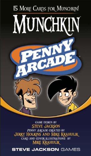 Steve Jackson Games Munchkin Penny Arcade