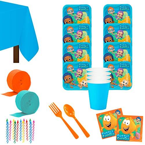 Costume SuperCenter Bubble Guppies Deluxe Tableware Kit Serves 8