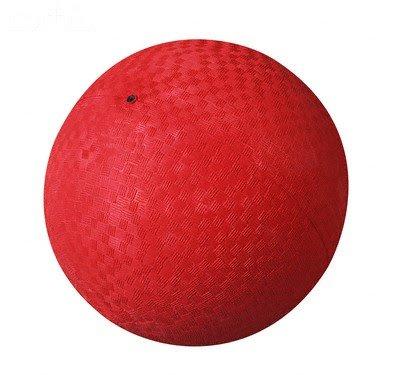 NEW 9 RED PVC PLAYGROUND KICKBALL DODGEBALL SCHOOL KICK BALLS