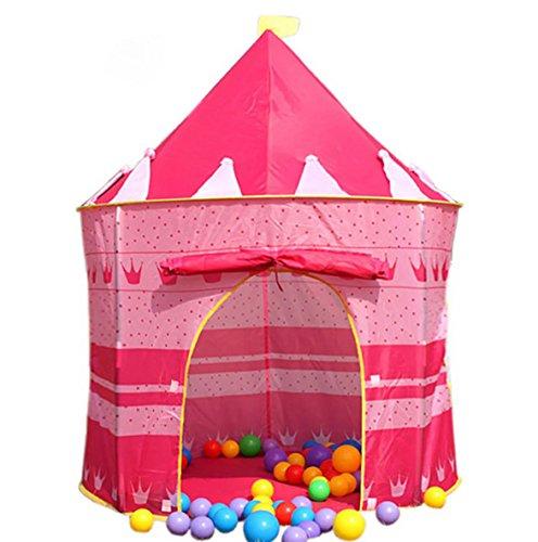 Children IndoorOutdoor Pop-Up Castle Play Tent - Princess Castle