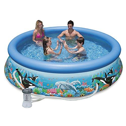 Intex 10ft X 30in Ocean Reef Easy Set Pool Set