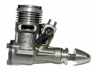 MKII 049 RC Engine by Brodak
