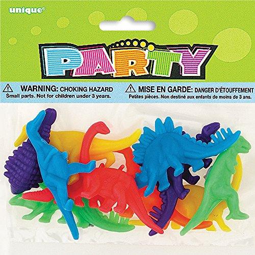 Plastic Dinosaur Figure Party Favors 12ct