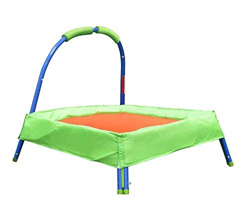 Kids Portable 37-inch Jump Indoor Outdoor Trampoline with Handle