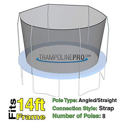 14 Universal Trampoline Enclosure Safety Net