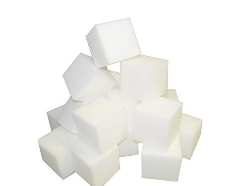 Foam Pits BlocksCubes 1000 pcs White 8x8x8 1536 Flame Retardant Pit Foam Blocks For Skateboard Parks Gymnastics Companies and Trampoline Arenas