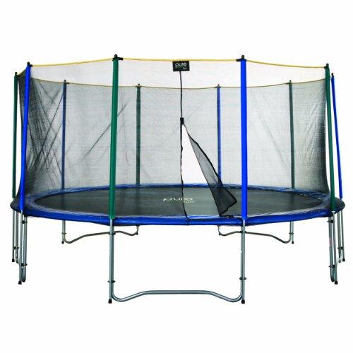 Pure Fun 15-Foot Trampoline and Enclosure Set