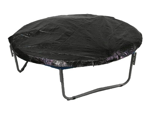 8 Trampoline Protection Cover Weather Rain Cover Fits for 8 FT Round Trampoline Frames - Black