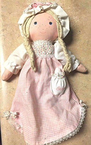 Vintage Holly Hobbie Carrie 13 Dream Along Night Bed Time Rag Doll Knickerbocker
