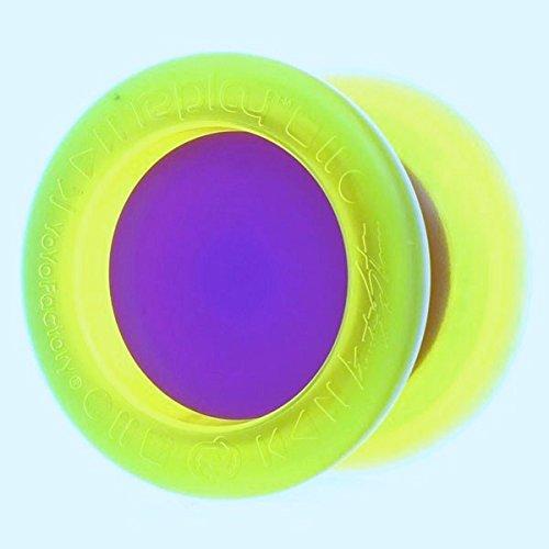 Replay Pro Purple and Yellow Yo Yo From The YOYOFACTORY Gentry Stein Edition