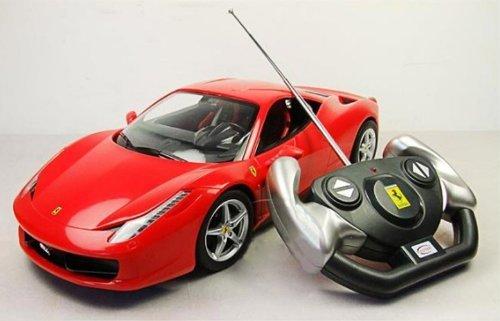 Backhomeday 114 Ferrari 458 Italia Remote Control Car Rc Car Model 47300-red