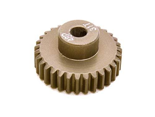 Integy RC Model Hop-ups OBM-BRPG4831 7075 Aluminum Alloy Pinion Gear 48P 31T for RC Model