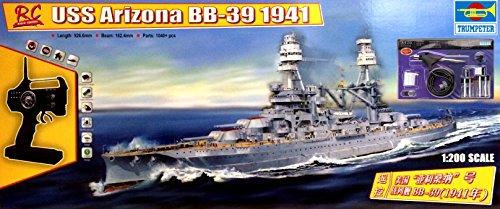 USS Arizona 1200 Complete Radio Controlled Ship Model You Build