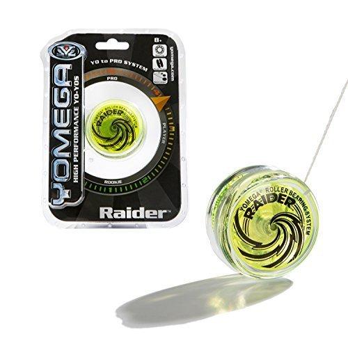 Yomega Raider - High Performance Pro Level Yo-Yo - Green