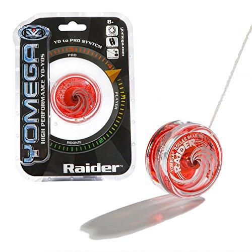 Yomega Raider - High Performance Pro Level Yo-Yo - Red