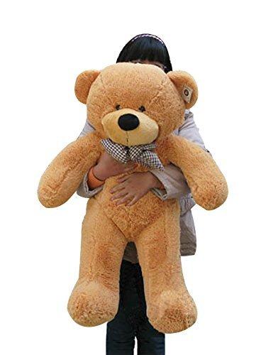 328 Feet 393 Giant Big Huge Jumbo Light Brown Tan Teddy Bear Plush Stuffed Toy