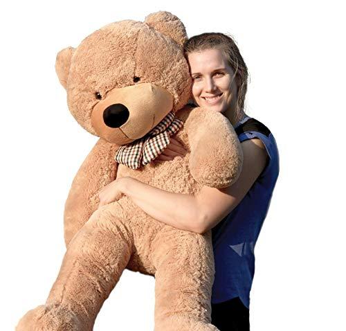 Roofs 47 120 cm Brown Giant Teddy Bear Big Huge Stuffed Toy Valentine Gift