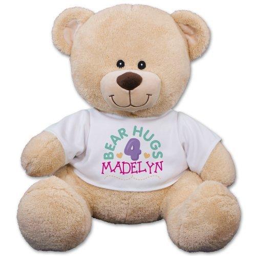 Bear Hugs 4 You Teddy Bear 21 Personalized