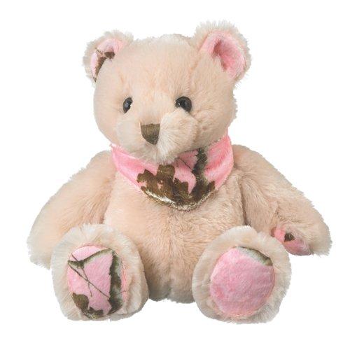 Realtree APCPink Camo Stuffed Animal Teddy Bear Plush Pink Camouflage