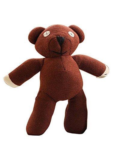 Yancos Mr Bean Teddy Bear Plush Figure Doll Toy Brown