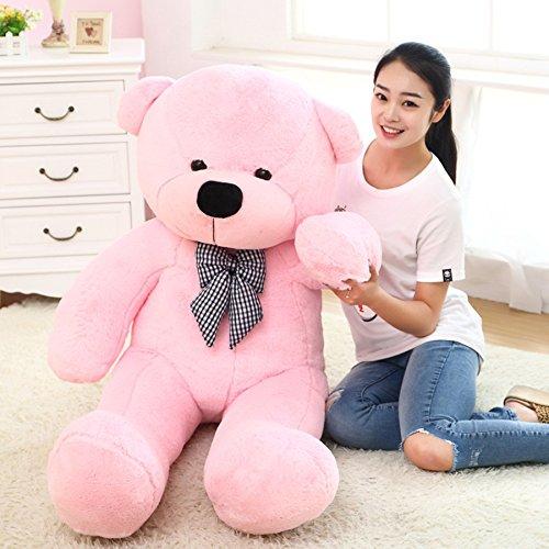 Teddy Bear Stuffed Animals Plush Pillow Giant Teddy Bear Toy Pink 80cm  32inch