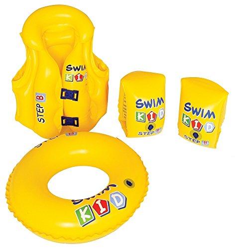 4 Piece Inflatable Swim Kid Learning Set