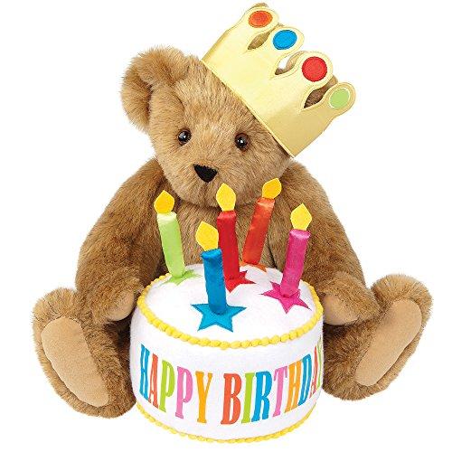 Vermont Teddy Bear Birthday Gift - Happy Birthday Bear 15 Inch Classic