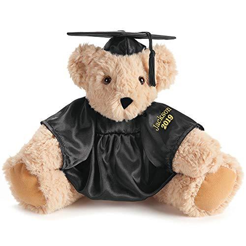 Vermont Teddy Bear Graduation Bear - Custom 15 Inch Black