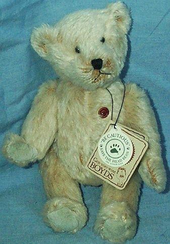 Boyds Mohair Teddy B Bear 50004 8