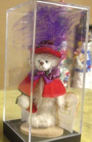 Little Gems Mademoiselle Rouge Teddys Exclusive Mini Mohair Bear
