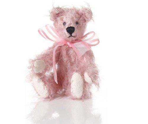 World of Miniature Bears 325 Mohair Bear Nadine 1087R Collectible Miniature