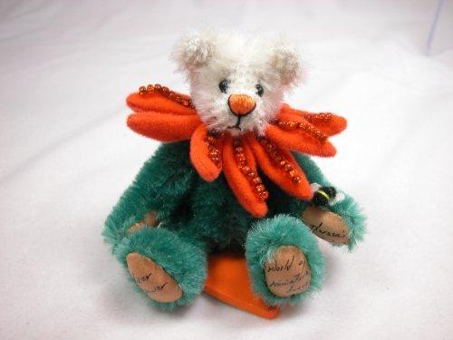 World of Miniature Bears 3 Mohair Bear Mum 1102 Collectible Miniature Bear Made by Hand