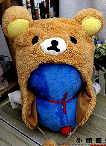 USA Seller - Cute Bear Cosplay Animal Plush Hat