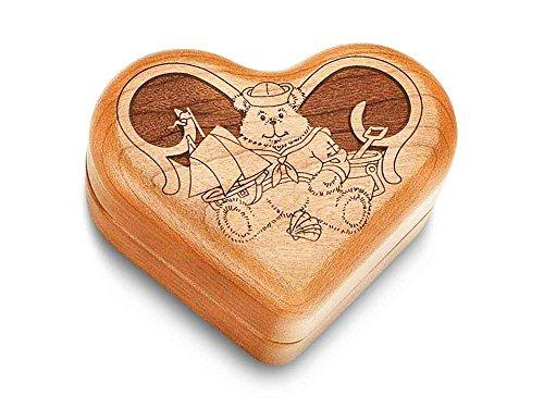 Music Box 3 Heart - Sailor Teddy - Teddy Bears Picnic
