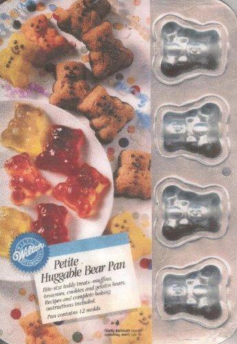 Wilton Petite Huggable Bear Pan 2105-3655 1994