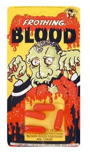 Novelty Joke Gag Trick Blood Capsules for Party Bag Filler Favor by UKPS