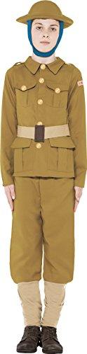 Horrible Histories WWI Boy Costume S