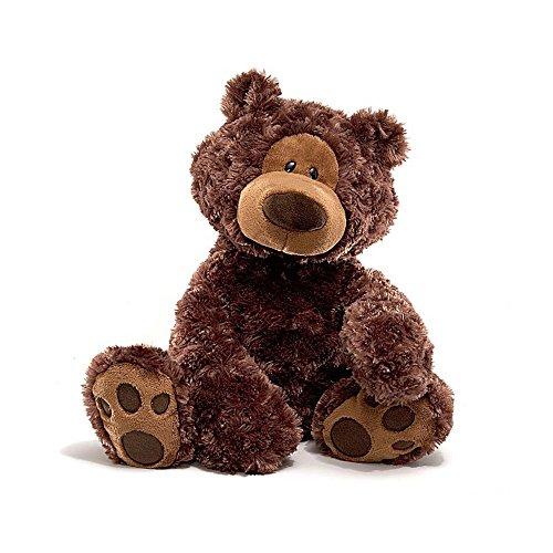 GUND Philbin Teddy Bear Stuffed Animal Plush Chocolate Brown 18