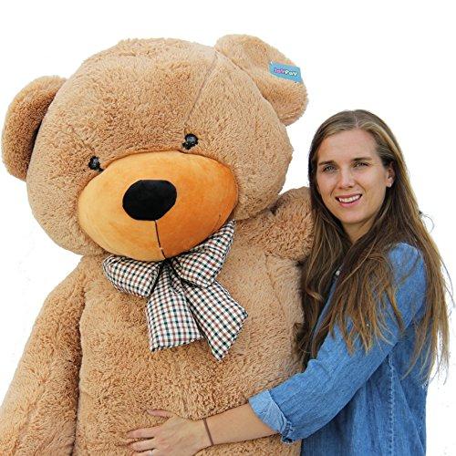 Joyfay 78 Giant Teddy Bear Brown Huge 65 feet Stuffed Teddy Bear Soft Toy Valentines Big Gift